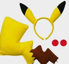 Rubie's Pikachu Costume Kit: Amazon Kids http://amzn.to/2cyjWaM