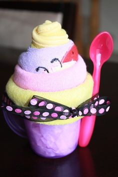 Milkshakes  Made with sippy cup, spoon, bib, & 3 washcloths