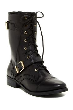 Feisty Leather Boot