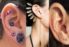 Ear Cuff and piercing