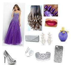 """""""Purple Prom"""" by cookima on Polyvore featuring Mascara, Topshop, Bling Jewelry, Kate Spade, purple, formal, MyStyle and PRETTYY"""