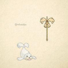 No. 086 - Seel. #pokemon #seel #rod #pokeapon
