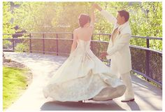 Wedding photography. This dress is beautiful