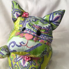 A personal favorite from my Etsy shop https://www.etsy.com/listing/273339054/handmade-stuffed-kitty-a-cat-lovers-gift