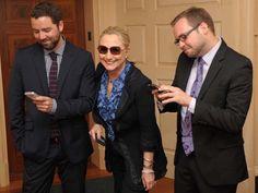Texts From Hillary founders meet … Hillary Clinton... Hillz has a sense of humor!