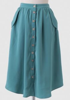 Tea In The Garden Midi Skirt