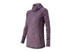 Our NB Heat fabric captures warmth and wicks moisture as the weather chills out, which means this warm pullover is perfect for keeping your workouts on track as the temperature drops.
