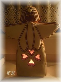 Perníkový anděl Honey Cookies, Bucket Bag, Handmade, Bags, Handbags, Hand Made, Bag, Totes, Handarbeit