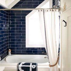 There's just something about a blue door! Here are 10 of my favorite blue door color ideas, from aqua to navy blue (with paint names). Modern Coastal, Coastal Style, Coastal Decor, Coastal Living, Coastal Bathrooms, Beach Bathrooms, Decor Interior Design, Interior Decorating, Decorating Ideas