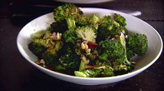 Get Parmesan-Roasted Broccoli Recipe from Food Network