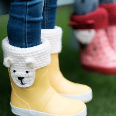 Animal Character Boot Toppers