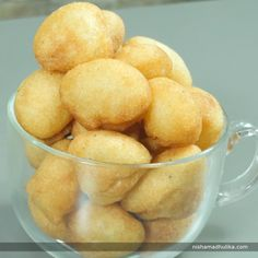 Rava Gulgule Malpua is a traditional sweet recipe from Bihar. It is mostly made for fasts and festivals. Recipe in English - https://goo.gl/PzNmrW (copy and paste link into browser)  Recipe in Hindi -https://goo.gl/mwxv6h(copy and paste link into browser)