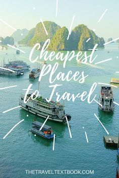Affording to travel can be difficult, but there are stacks of destinations out there that give you fantastic value for money! Here I list 10 of the Cheapest Travel Destinations I've found so far.