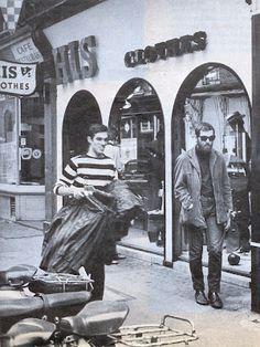 His clothing John stephen king of carnaby street million pound mod Mod Fashion, 1960s Fashion, Vintage Fashion, Vintage London, Old London, Retro Vintage, Fred Perry Polo, Nostalgic Images, Swinging London