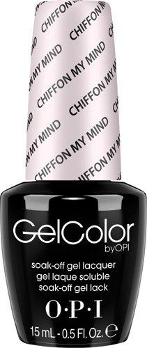 OPI GelColor - Chiffon On My Mind 0.5 oz - #GCT63