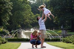 Spend a day with the family outside at the beautiful Loose Park.