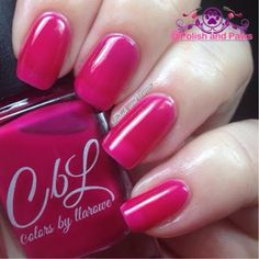 Colors by Llarowe Colorado on my Mind Collection (partial) Pikes Pink #nails #nailpolish #manicures #indiepolish