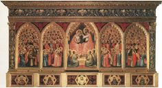 Baroncelli Polyptych - Giotto