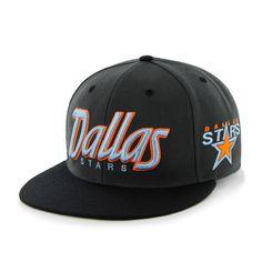 NHL Dallas Stars Retro Script Snapback Snapback Cap, Nhl, Script, Dallas, Stars, Retro, Collection, Script Typeface, Snapback Hats