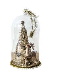 Reindeer and Tree Bell Jar