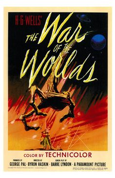 Film poster The War of the Worlds 1953 - The War of the Worlds (1953 film) - Wikipedia, the free encyclopedia
