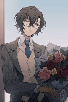 Manga Boy, Manga Anime, Anime Art, Dazai Bungou Stray Dogs, Stray Dogs Anime, Dibujos Anime Chibi, Manhwa, Dazai Osamu, Cute Anime Guys