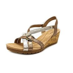 LifeStride Womens Natural Wedge SandalPlatinumCham10 M US >>> Check out the image by visiting the link.(This is an Amazon affiliate link and I receive a commission for the sales)