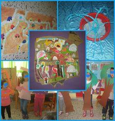 """παιχνιδοκαμώματα στου νηπ/γειου τα δρώμενα: """" Η πόλη που έδιωξε τον πόλεμο """" Peace Crafts, 28th October, School, Blog, Painting, October, Painting Art, Blogging, Paintings"""