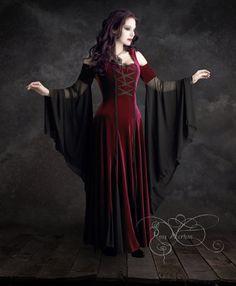 Imaginaerum Fairy Tale Romantic Wedding Dress  Handmade