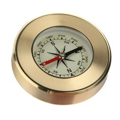 Portable Hand-held Precise Compass Navigation Gold