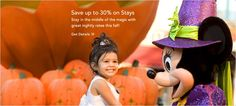 Save Up to 30% at Select Disney Resort Hotels this Fall!  To book, please contact me at stacey@travelbyhelen.com