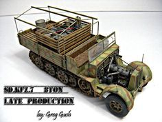 Sd.Kfz.7 8Ton Late Production