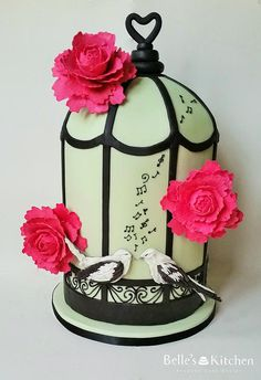Bespoke Cakes for collection or delivery in London Breakfast Lunch Dinner, Food Industry, Bird Cage, Amazing Cakes, Food Art, Tea Time, Bespoke, Wedding Cakes, Birthday Parties