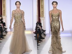 Love all of these golden evening gowns!!!!.  Passion For Luxury : Zuhair Murad Couture Collection for Spring 2013