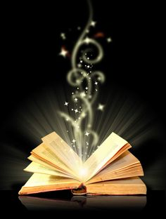 Open book, fantasy, story, fairy tales, imagination