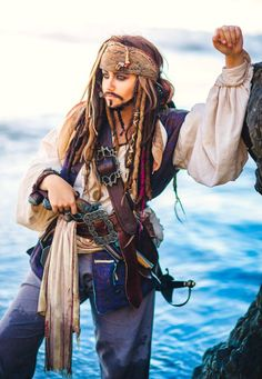 "Wanna see some #DisneySide #Cosplay from around the world? ""Not all treasure is is Silver & Gold, Mate"" #JackSparrow"
