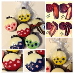 Holiday chocolate covered Oreos  Set of 12  by Sparklesbaby, $24.00