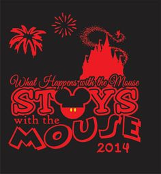 Disney Vacation Mickey Mouse Shirt by WhitefishCreations on Etsy, $24.00