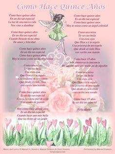 Oraciones para quinceanera invitaciones yahoo image for Poemas para bautizo