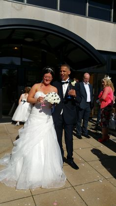 Congratulations - the new Mr and Mrs P.M.
