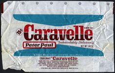 Peter Paul - Caravelle candy bar wrapper - So Good and 15 cents made it even better! Changed the name from Caravelle to 100 GRAND. Same candy! 1970s Candy, Retro Candy, Vintage Candy, Vintage Food, Vintage Stuff, Vintage Photos, Those Were The Days, The Good Old Days, Old Fashioned Candy