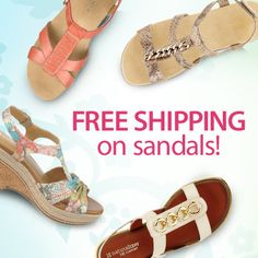 It's casual Friday! Shop our casual sandals here & get FREE SHIPPING. Use code: PNSANDAL