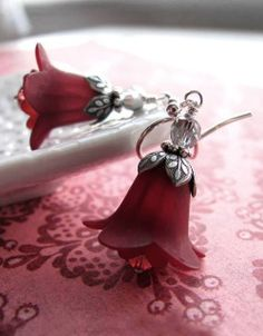 Marsala earrings...lovely!