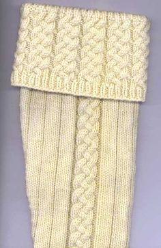 John Anderson's Kilt Hose FREE PATTERN knit toe-up