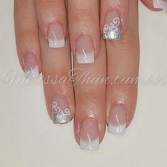 #nails #nailart #nailsmagazine #nailpromagazine #nailitmag #nailporn #prettynails#silveraccent#nailprodigy