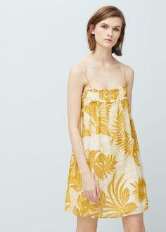 Floral print dress - Dresses for Women   MANGO USA