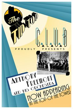 Tip Top Club Poster - Hollywood Tower Hotel - DCA Edition | Flickr - Photo Sharing!