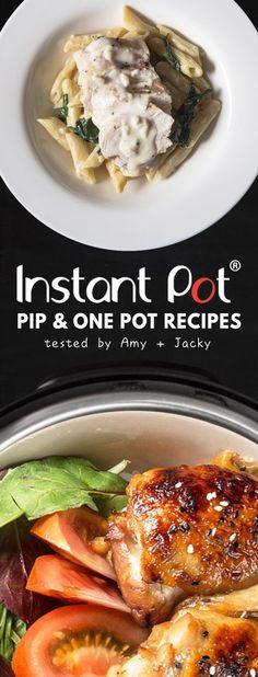 Pressure Cooker One Pot Meals: Growing collection of Tested Easy One Pot Meals, Pressure Cooker Pot in Pot Recipes, and Instant Pot One Pot Meals. via @pressurecookrec