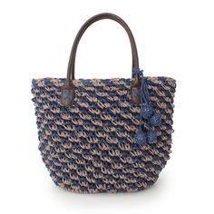 HusHusH paper yarn crochet bag