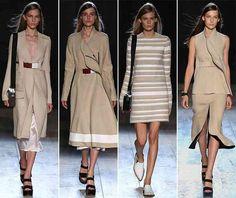 nice Victoria Beckham Spring/Summer 2015 Collection – New York Fashion Week